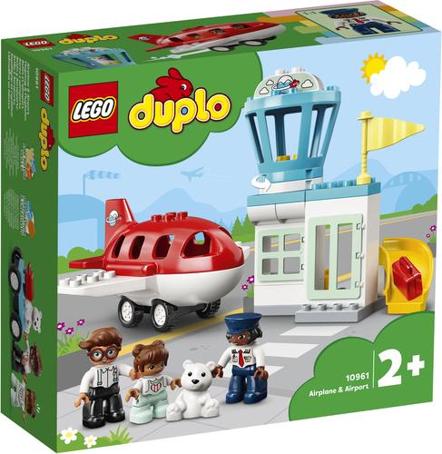LEGO DUPLO AEREO E AEROPORTO 10961
