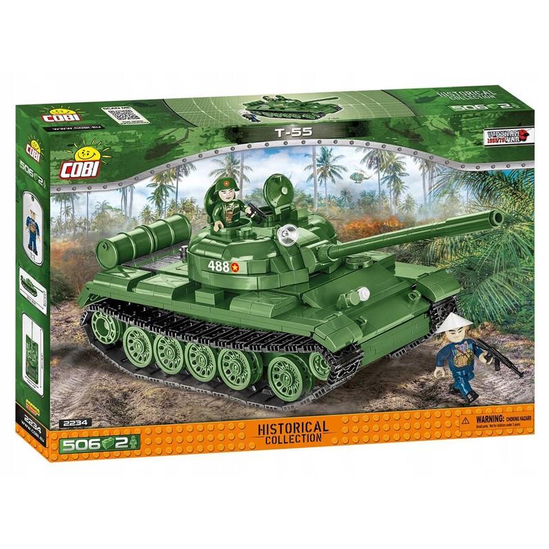 COBI CARRO ARMATO T-55 2234