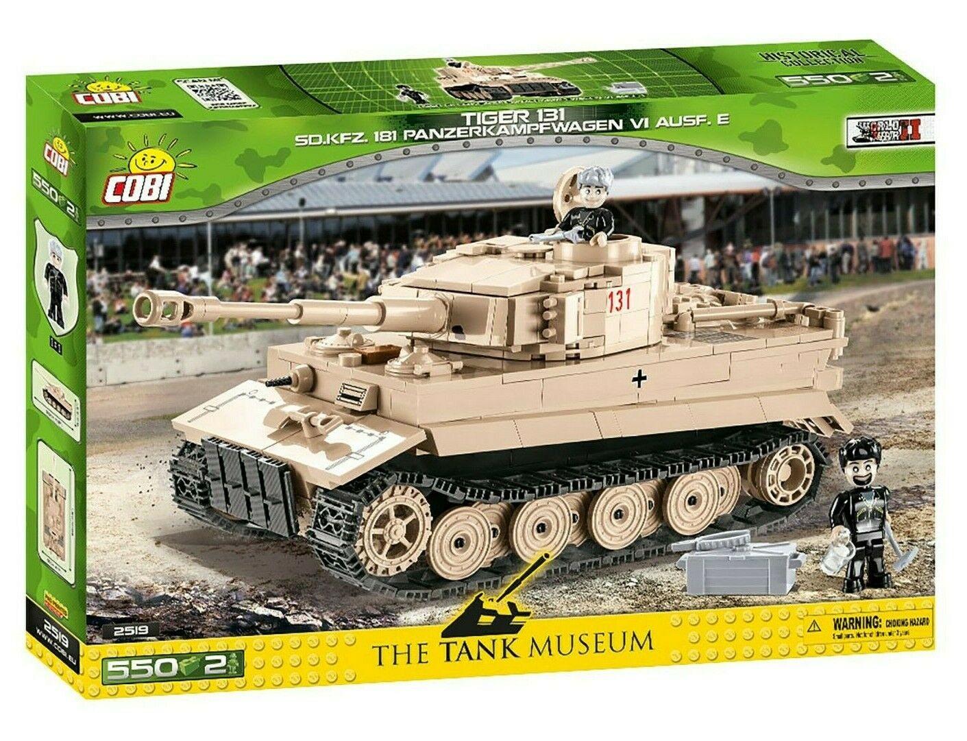 COBI TIGER 131 CARRO ARMATO PESANTE SD.KFZ.181 WWII 2519