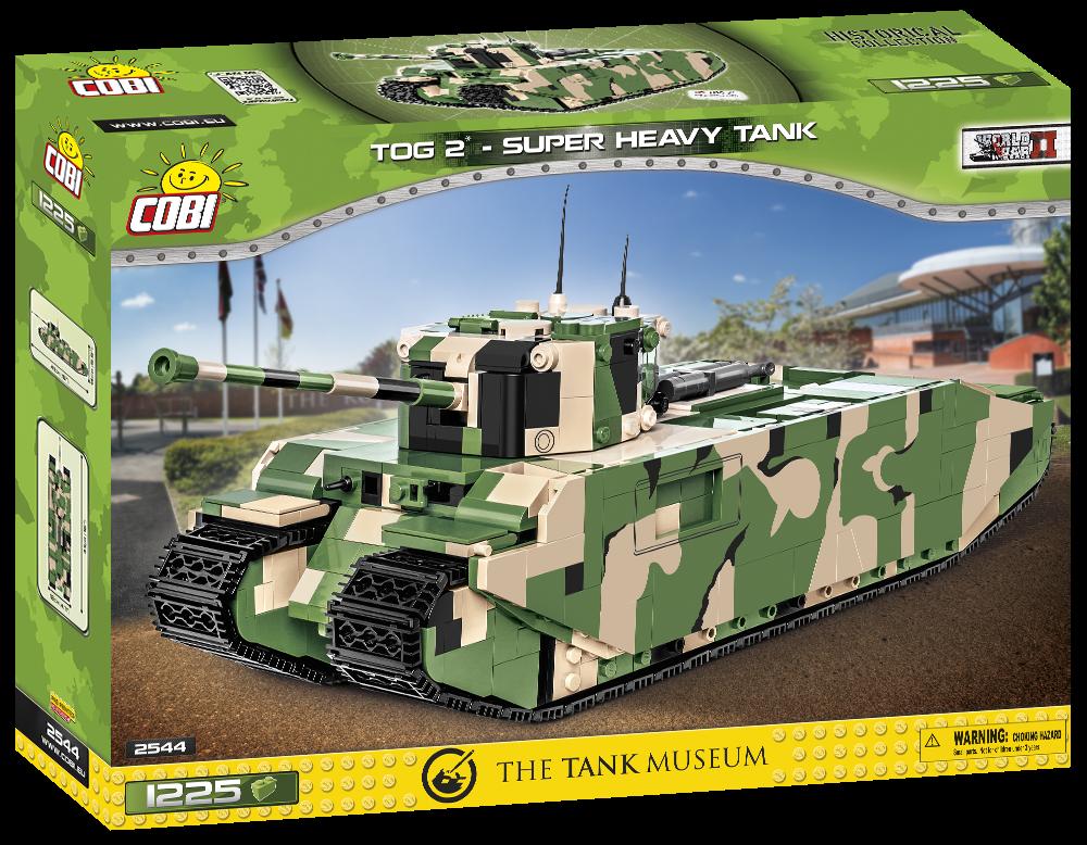 COBI TOG II - CARRO ARMATO SUPER PESANTE WWII 2544