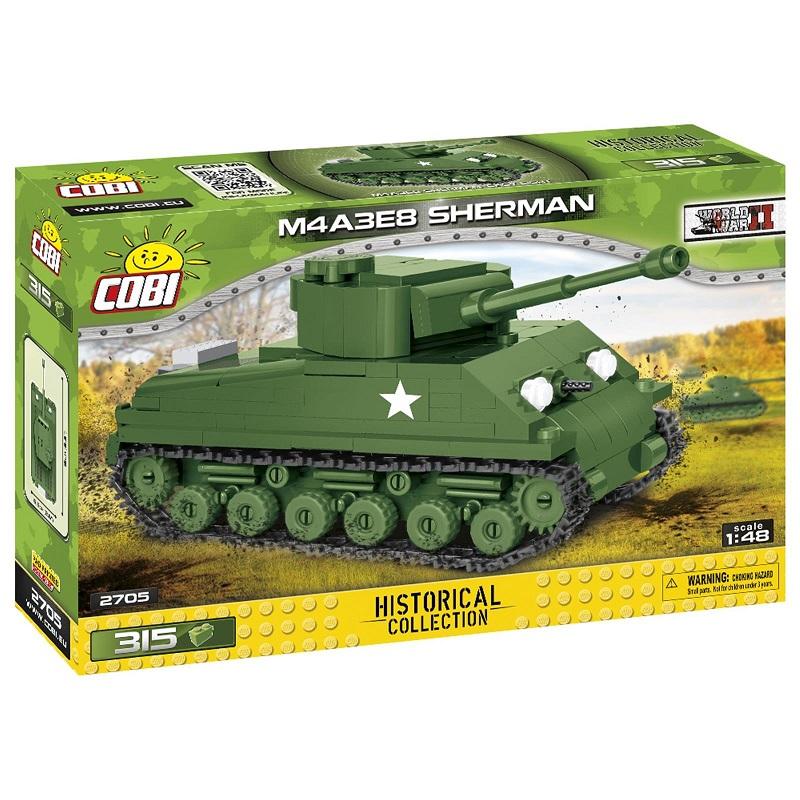 COBI M4A3E8 SHERMAN 2705