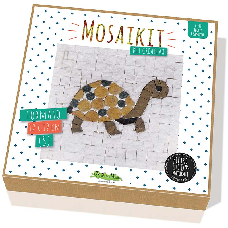 CREATIVAMENTE MOSAIKIT TARTARUGA - SMALL