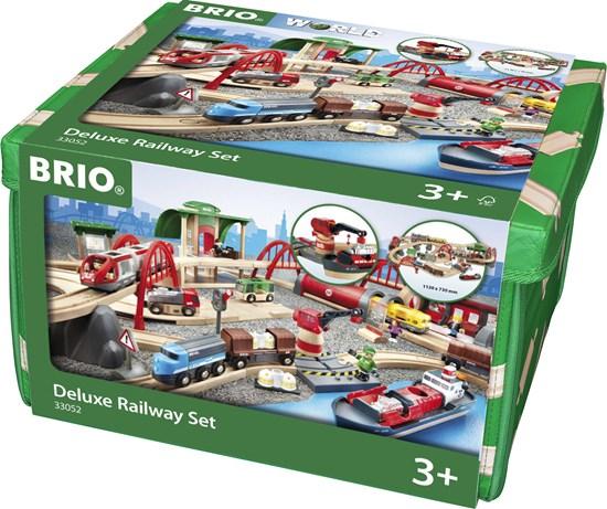 BRIO SET FERROVIA DELUXE 33052