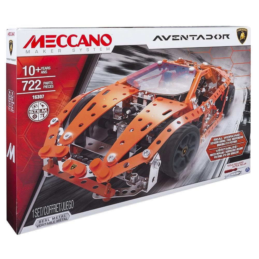 MECCANO LAMBORGHINI AVENTADOR cod. 16307/6032898