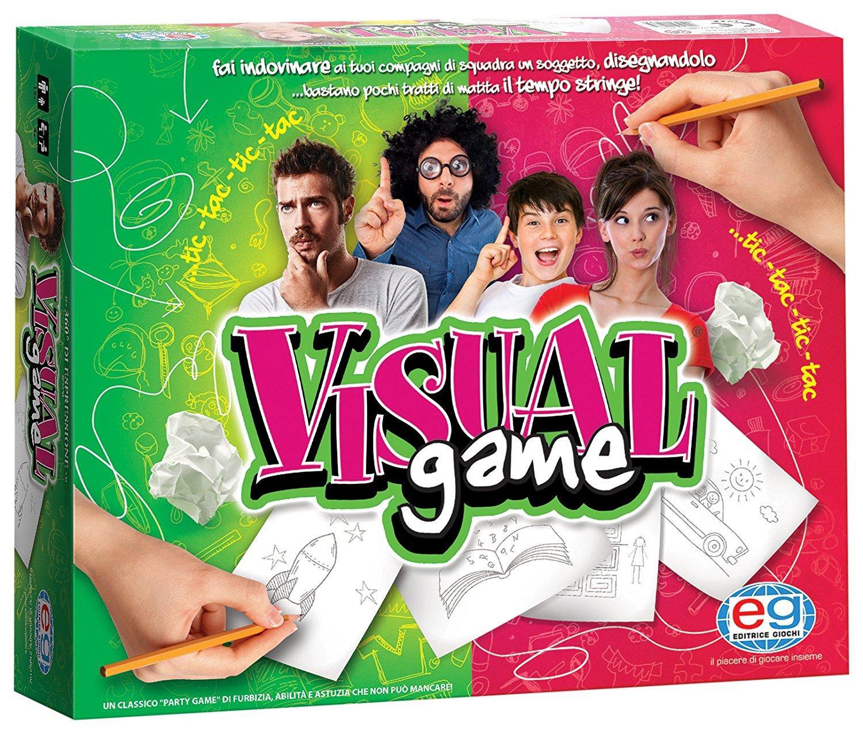 EDITRICE GIOCHI VISUAL GAME GIOCO DA TAVOLO NUOVA EDIZIONE 6033989/1044495