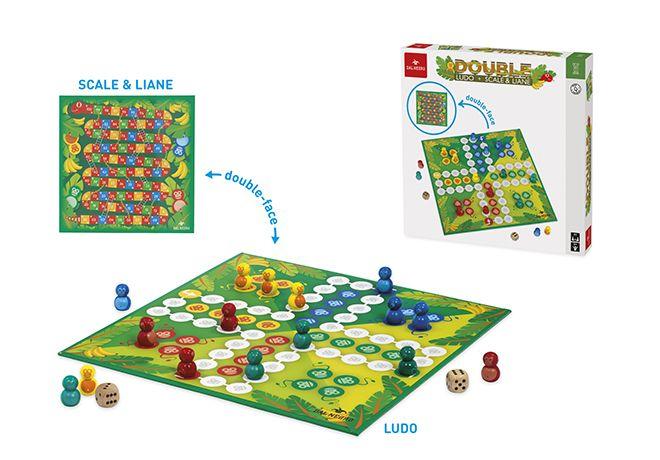 DAL NEGRO DOUBLE LUDO + SCALE & LIANE 053919