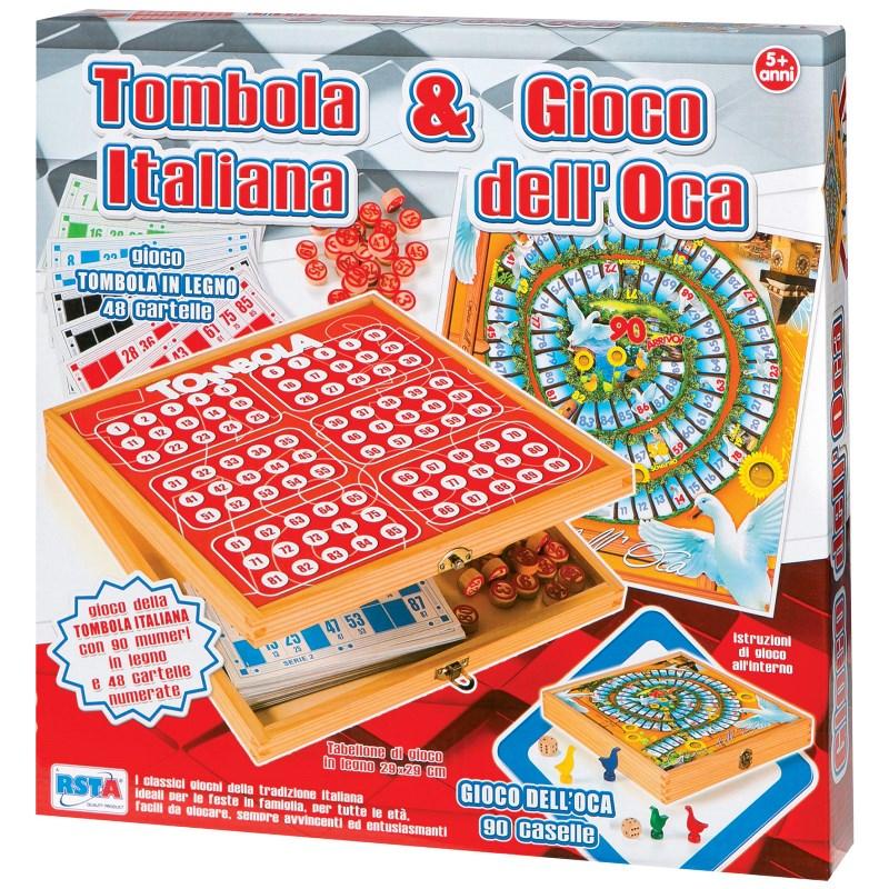 TOMBOLA ITALIANA & GIOCO DELL'OCA