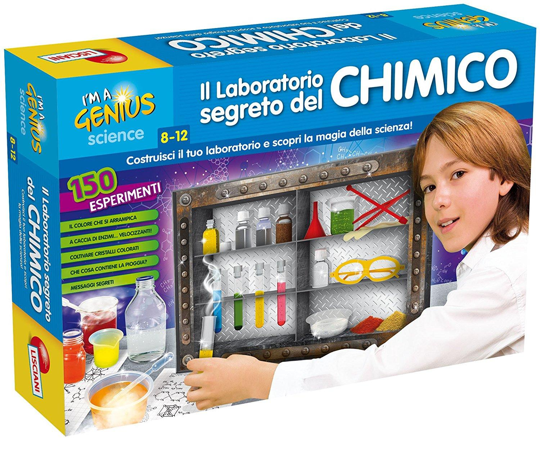 LISCIANI GIOCHI I'M A GENIUS IL MIO LABORATORIO DI CHIMICA 62379