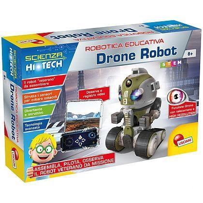 LISCIANI GIOCHI I'M A GENIUS VETERAN DRONE ROBOT 63918