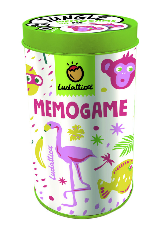 LUDATTICA MEMOGAME JUNGLE 70787