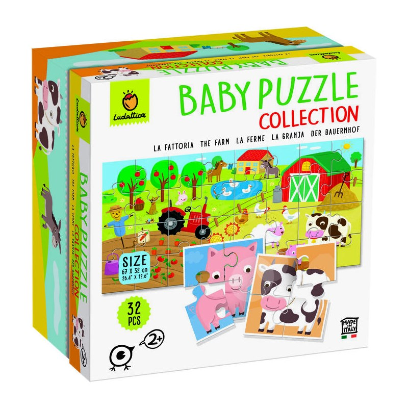 LUDATTICA BABY PUZZLE COLLECTION LA FATTORIA 74761