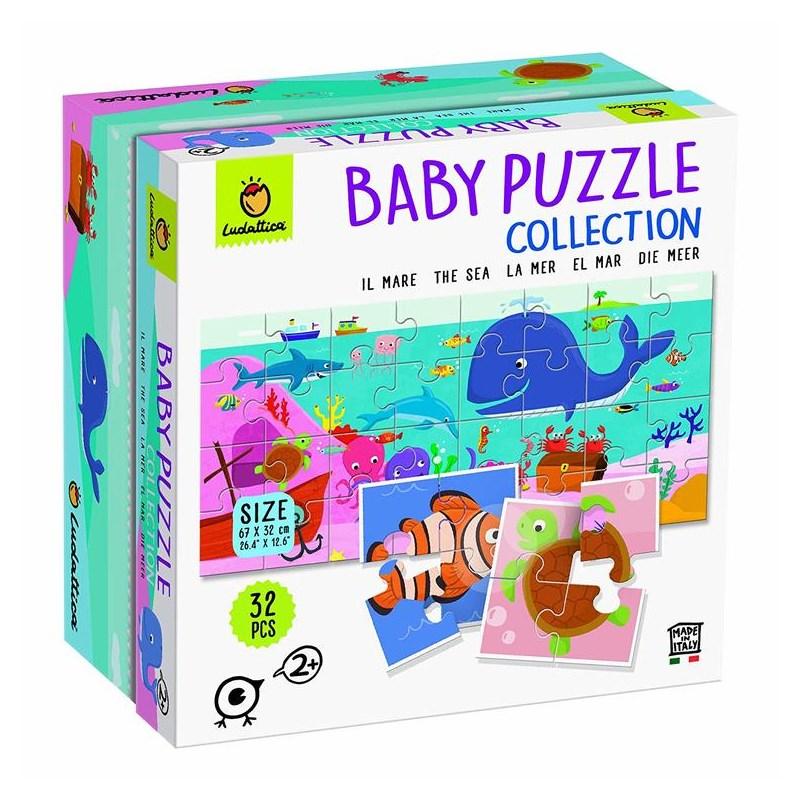 LUDATTICA BABY PUZZLE COLLECTION IL MARE 74778
