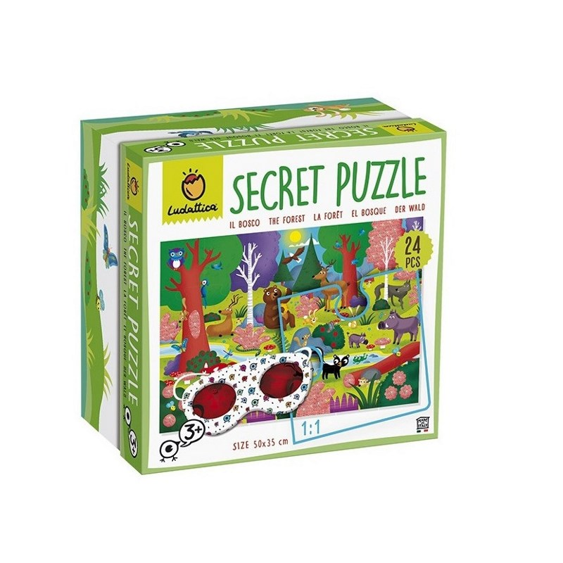 LUDATTICA SECRET PUZZLE IL BOSCO 74785