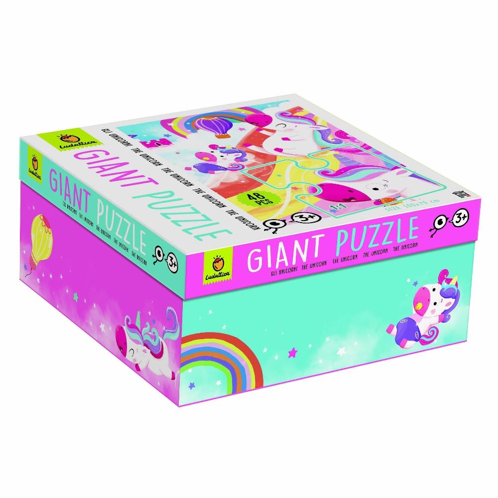 LUDATTICA GIANT PUZZLE - MAGIC UNICORN 81776