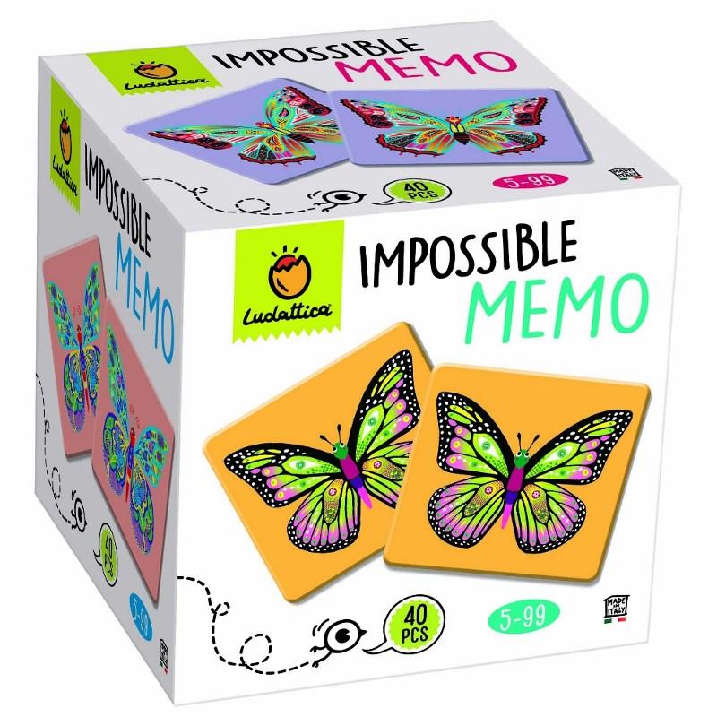 LUDATTICA MEMO GAME - IMPOSSIBLE MEMO 81790