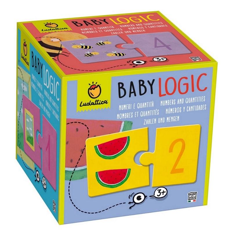 LUDATTICA BABY LOGIC - NUMERI E QUANTITA' 81813