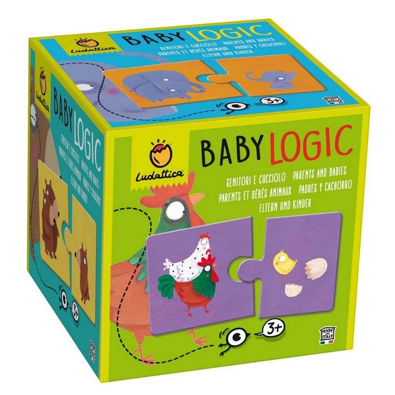 LUDATTICA BABY LOGIC - GENITORI E CUCCIOLI 81837