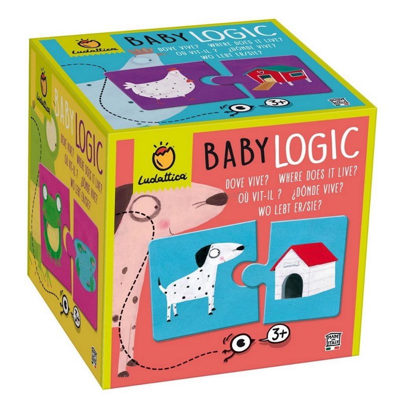 LUDATTICA BABY LOGIC - DOVE VIVE? 81851