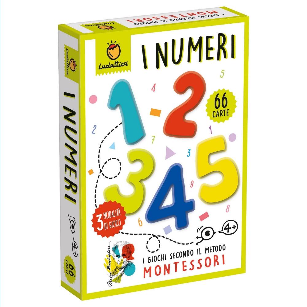 LUDATTICA CARTE MONTESSORI - I NUMERI 81981