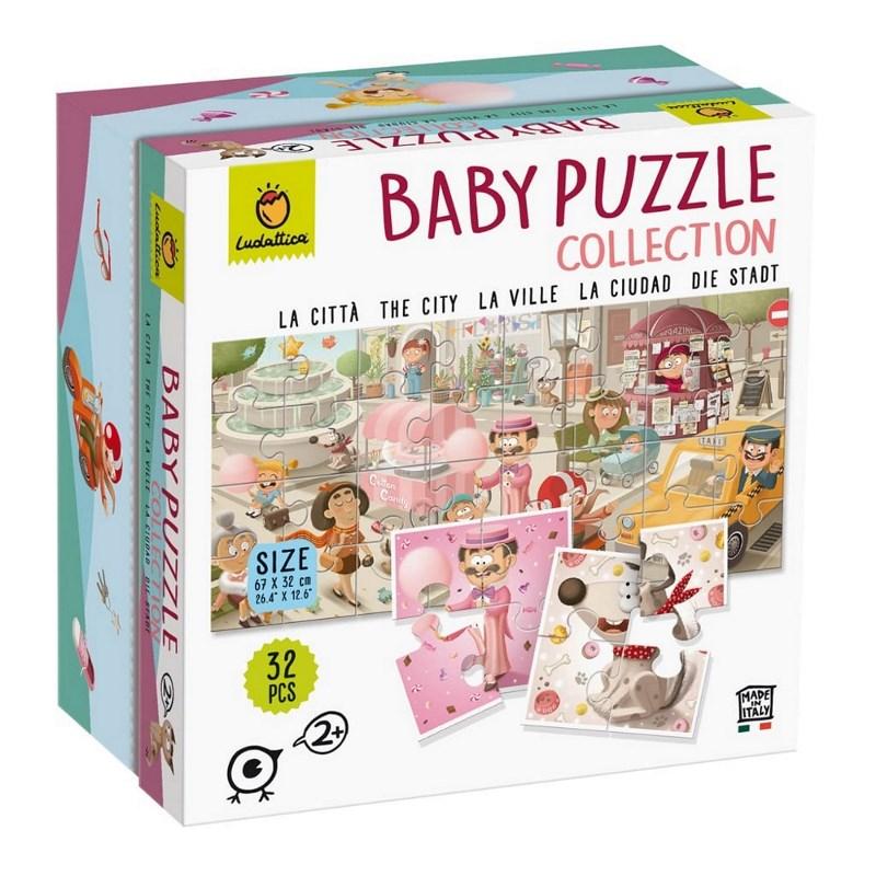 LUDATTICA BABY PUZZLE COLLECTION - LA CITTA' 82261