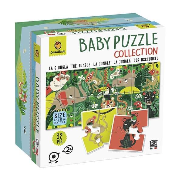 LUDATTICA BABY PUZZLE COLLECTION - LA GIUNGLA 82278