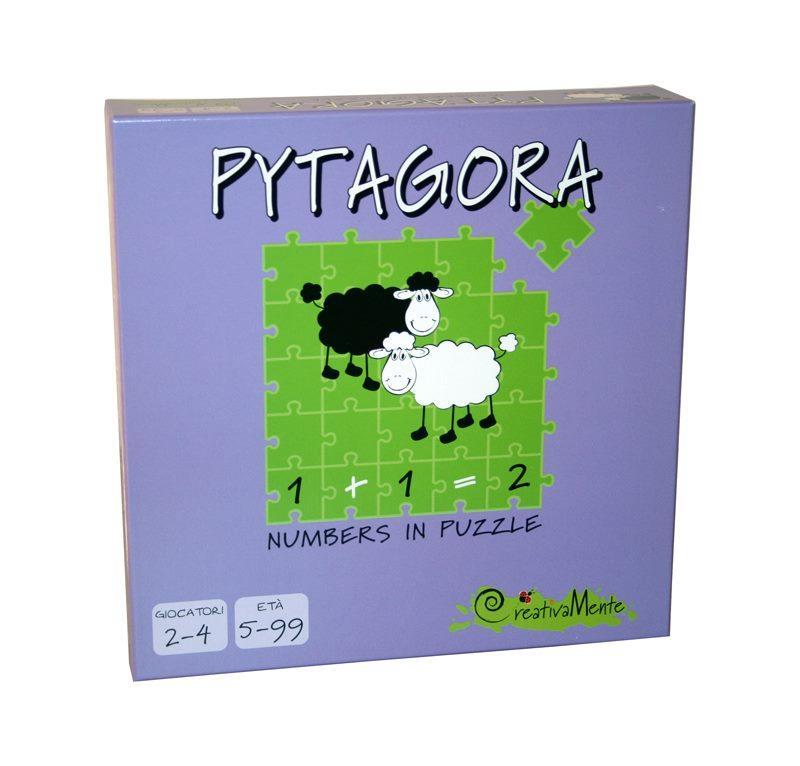 CREATIVAMENTE PYTAGORA, NUMBERS IN PUZZLE - GIOCA CON I NUMERI CONTANDO LE PECORELLE