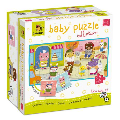 LUDATTICA BABY PUZZLE COLLECTION - CUCCIOLI 20477