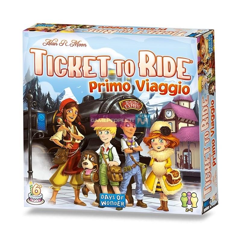 ASMODEE 8516 TICKET TO RIDE PRIMO VIAGGIO