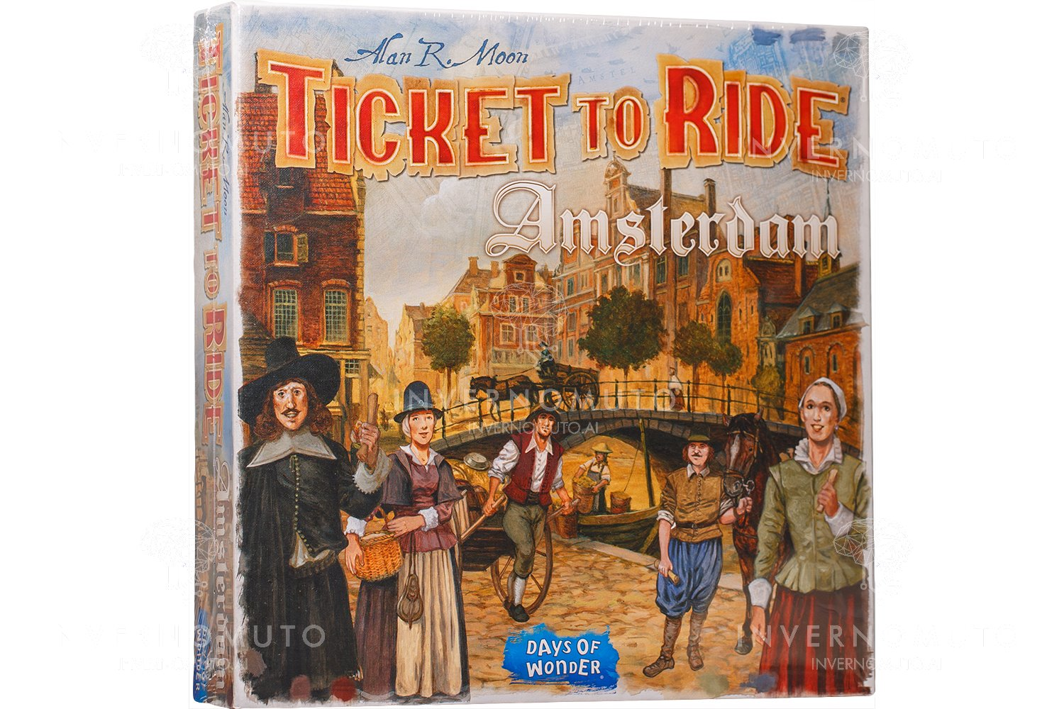 ASMODEE  TICKET TO RIDE AMSTERDAM 8517