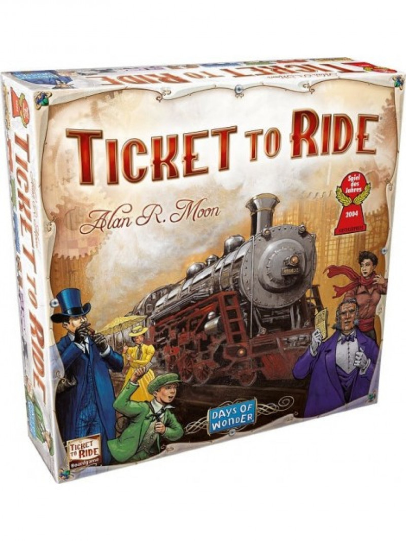 ASMODEE TICKET TO RIDE 8510