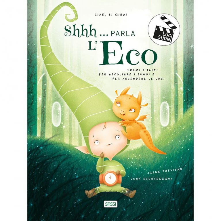 SASSI EDITORE SHHH... PARKA L'ECO - LIGHT AND SOUND BOOKS