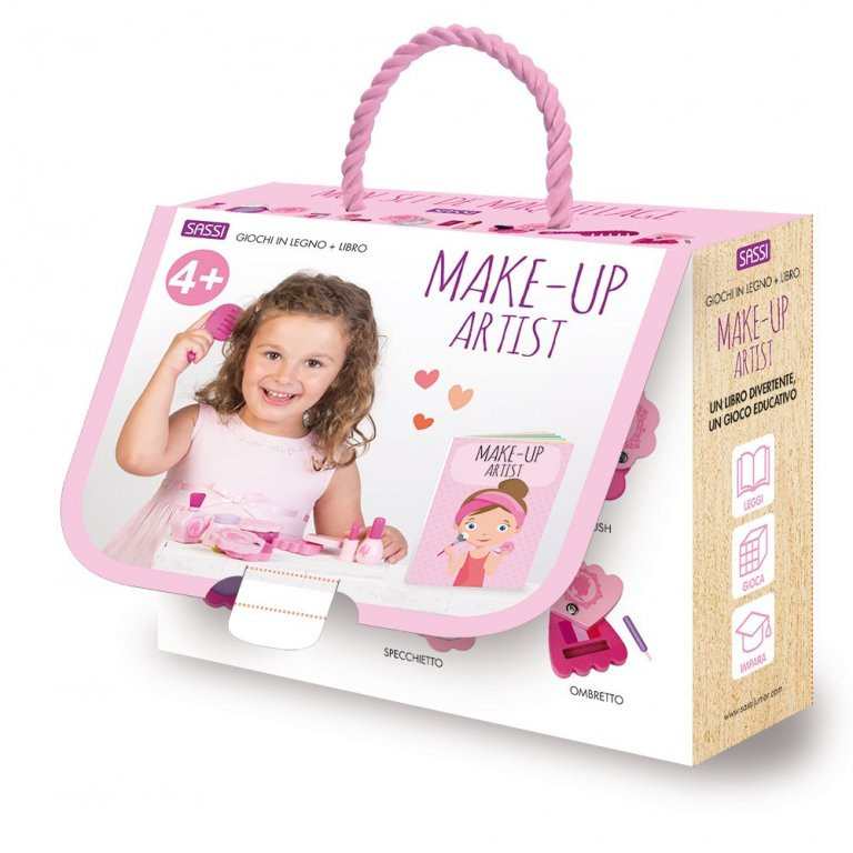 SASSI EDITORE WOODEN TOYS AND BOOK - MAKE-UP ARTIST