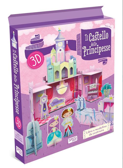 SASSI EDITORE 3D CARTON - IL CASTELLO DELLE PRINCIPESSE