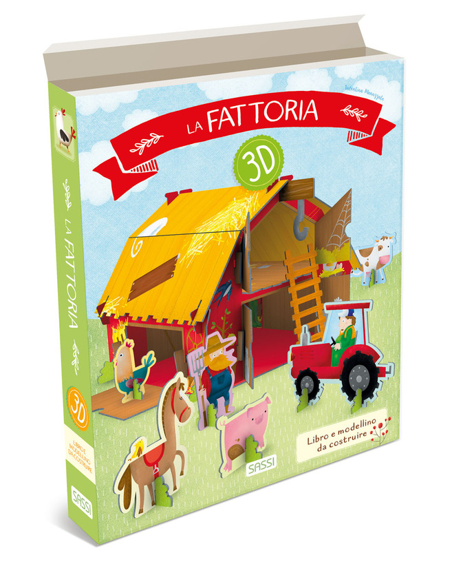 SASSI EDITORE 3D CARTON - LA FATTORIA