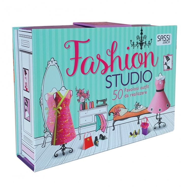 SASSI EDITORE ACTIVITY BOOKS - FASHION STUDIO