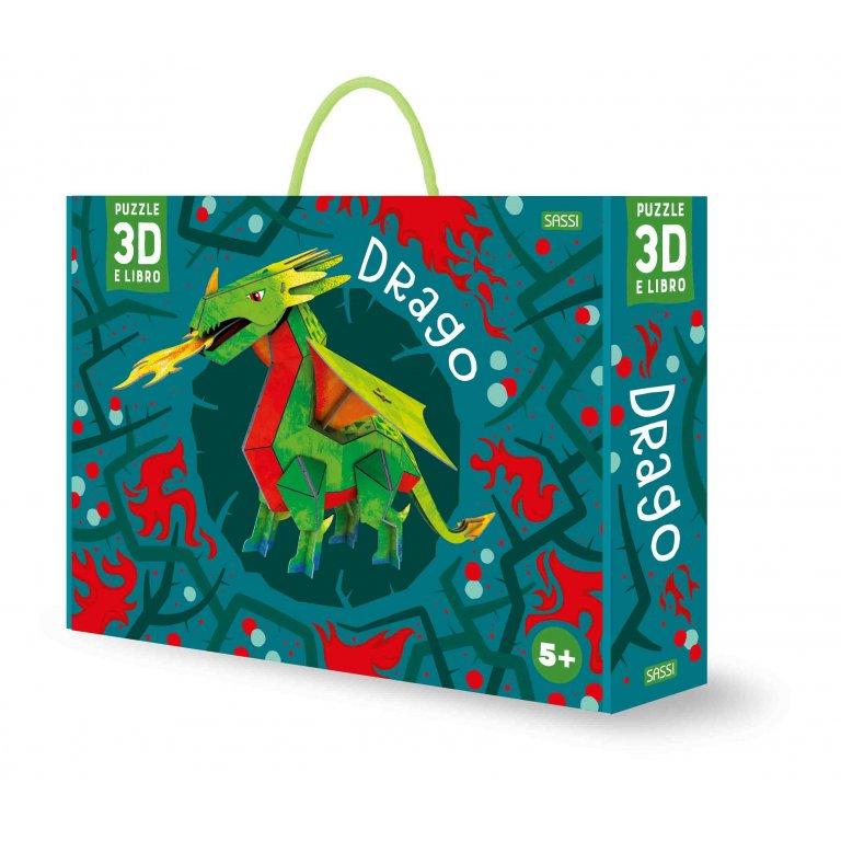 SASSI EDITORE 3D KIDS - DRAGO