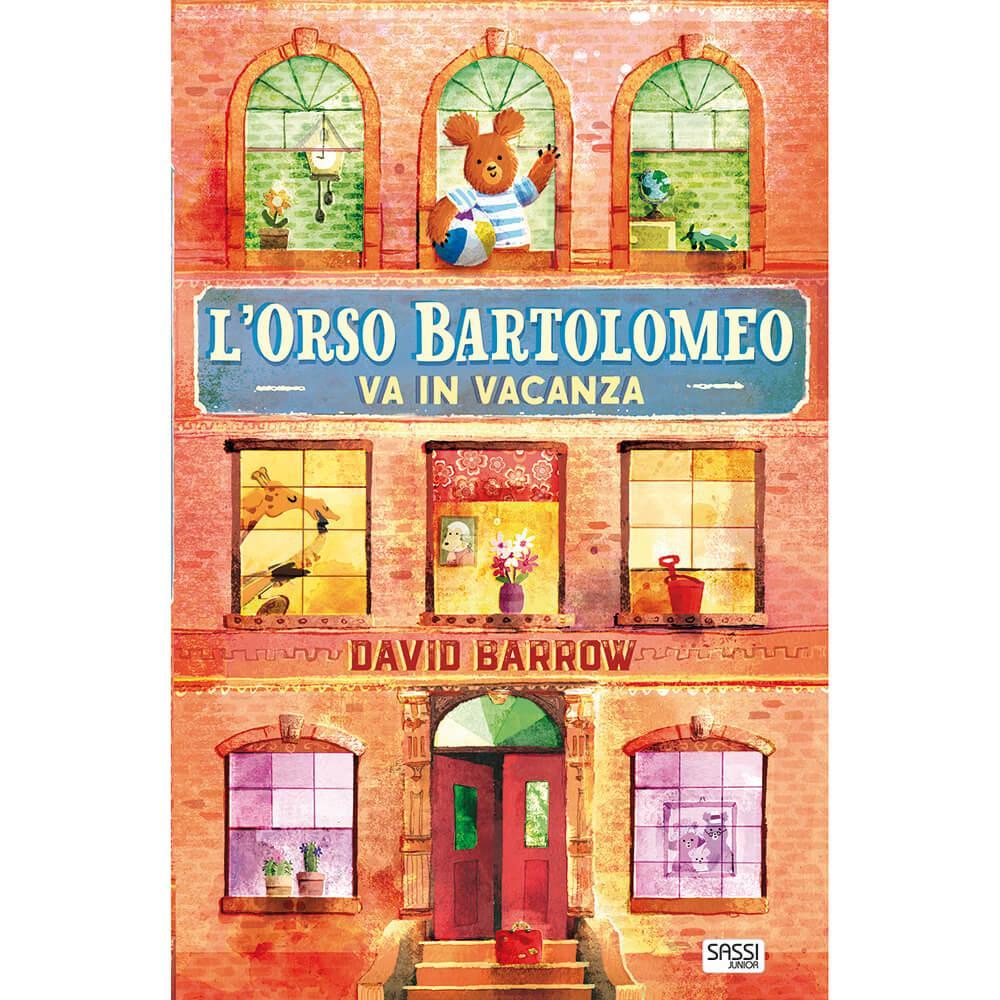 SASSI EDITORE L'ORSO BARTOLOMEO VA IN VACANZA di David Barrow