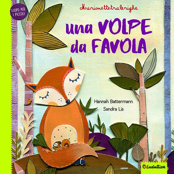 LUDATTICA MARIONETTE TRA LE RIGHE - LE FAVOLE DELLA VOLPE 10815