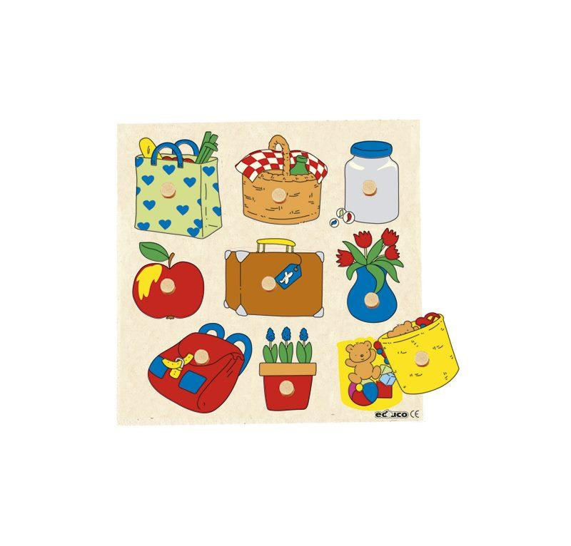 EDUCO PUZZLE DELLE SORPRESE - PICNIC