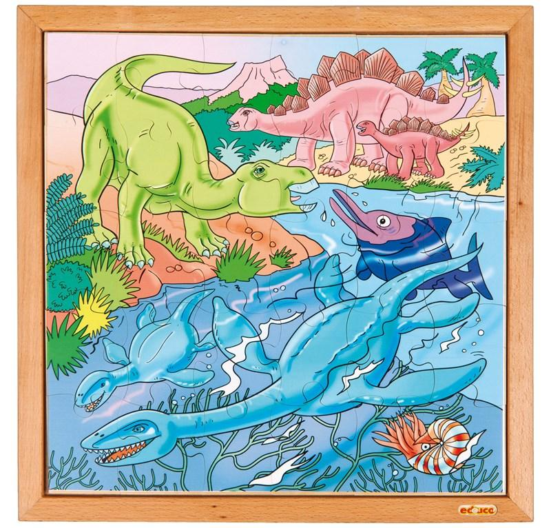 EDUCO DINOPUZZLE - IN ACQUA (49 PZ)