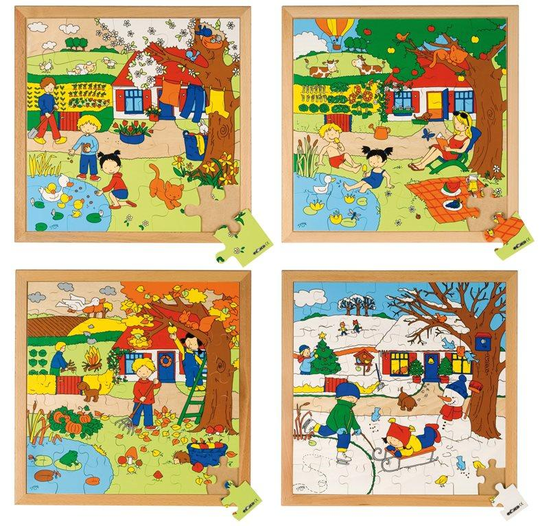EDUCO PUZZLE STAGIONI - INVERNO (64 PZ)