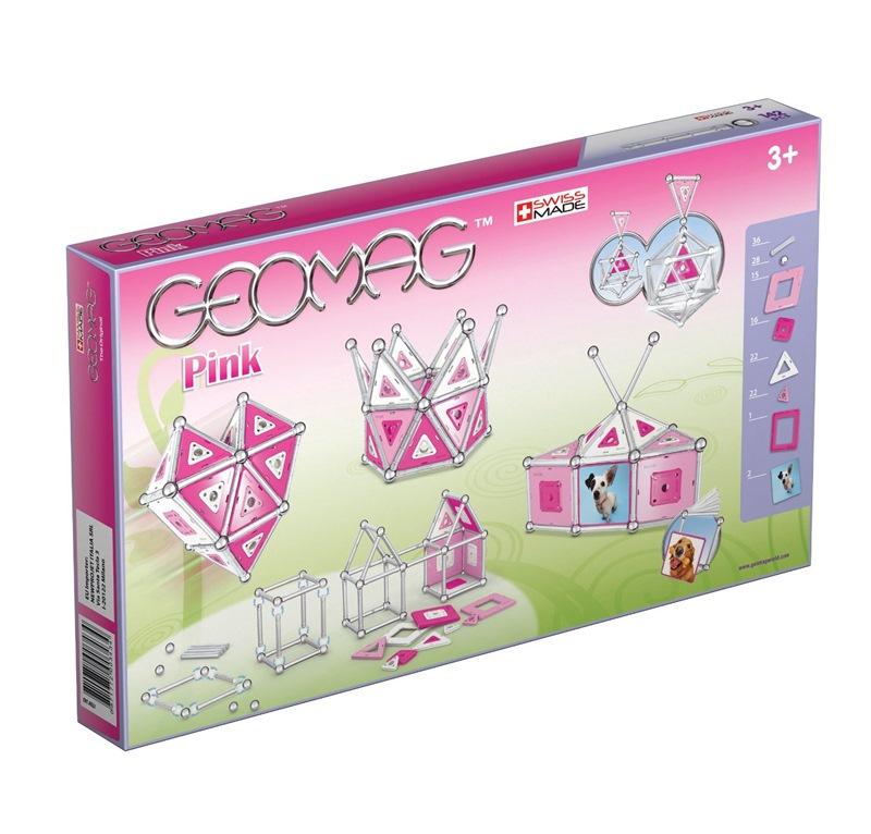 GEOMAG PANELS PINK - 142 PEZZI