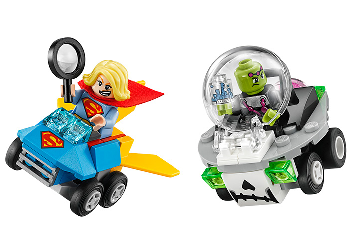 LEGO SUPER HEROES MIGHTY MICROS: SUPERGIRL CONTRO BRAINIAC 76094<br />