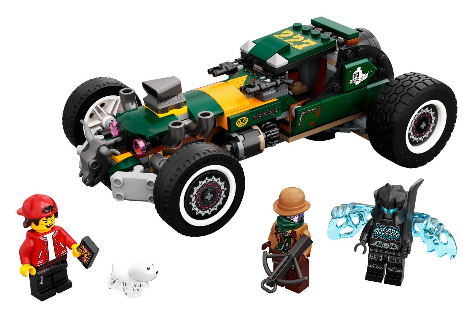 LEGO HIDDEN SIDE AUTO DA CORSA FANTASMAGORICA 70434