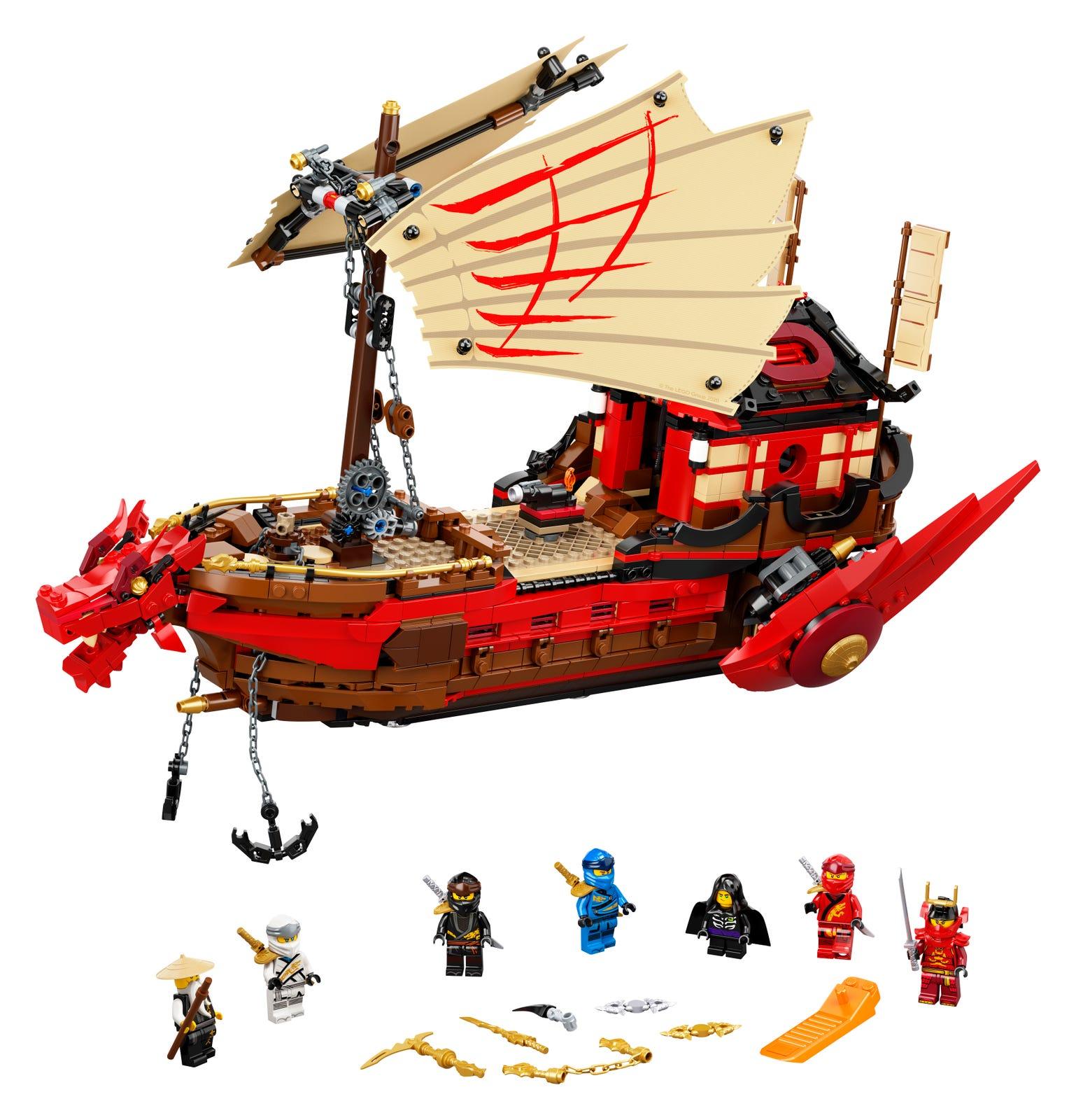 LEGO NINJAGO BOUNTY DEL DESTINO 71705
