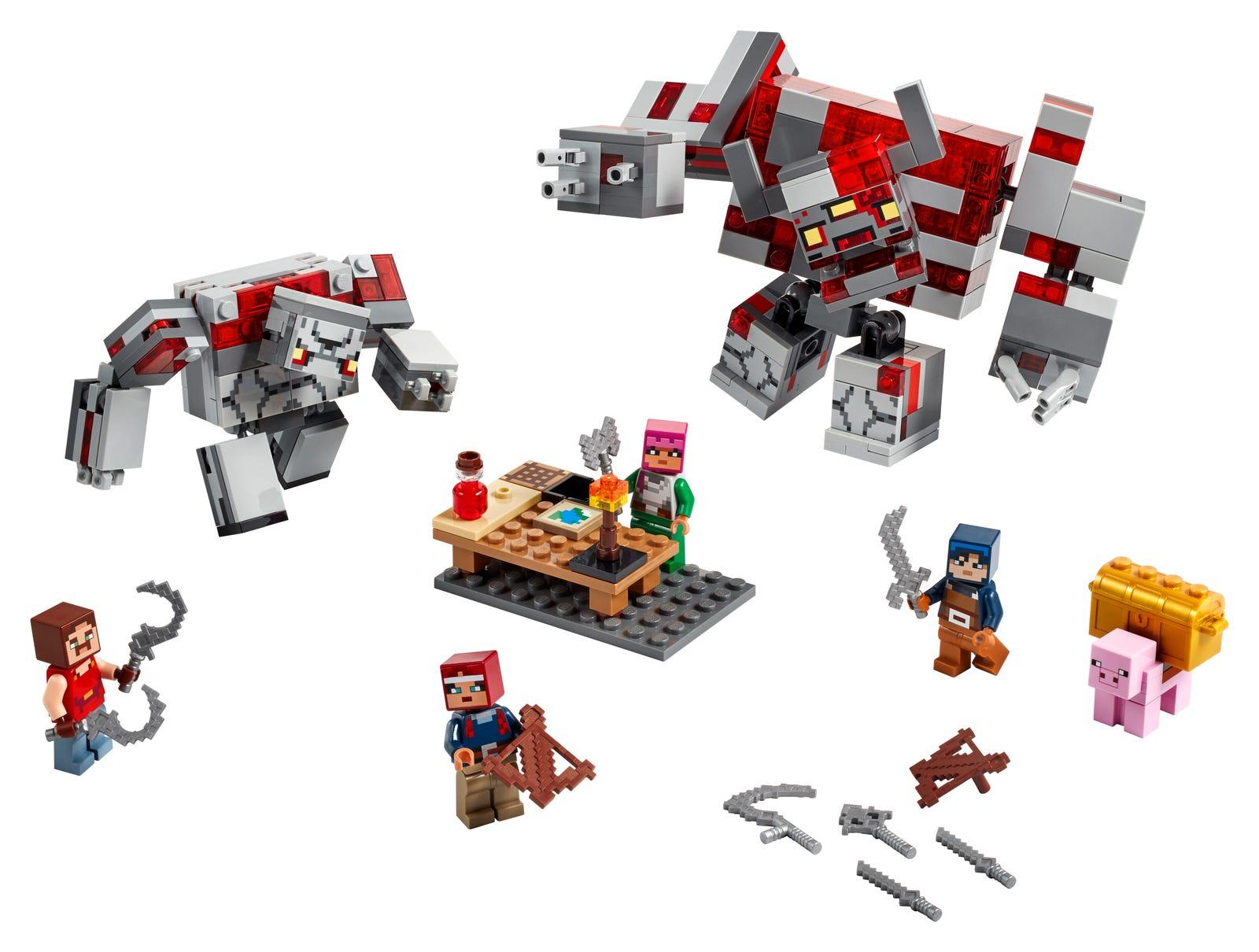 LEGO MINECRAFT LA BATTAGLIA DELLA PIETRAROSSA 21163
