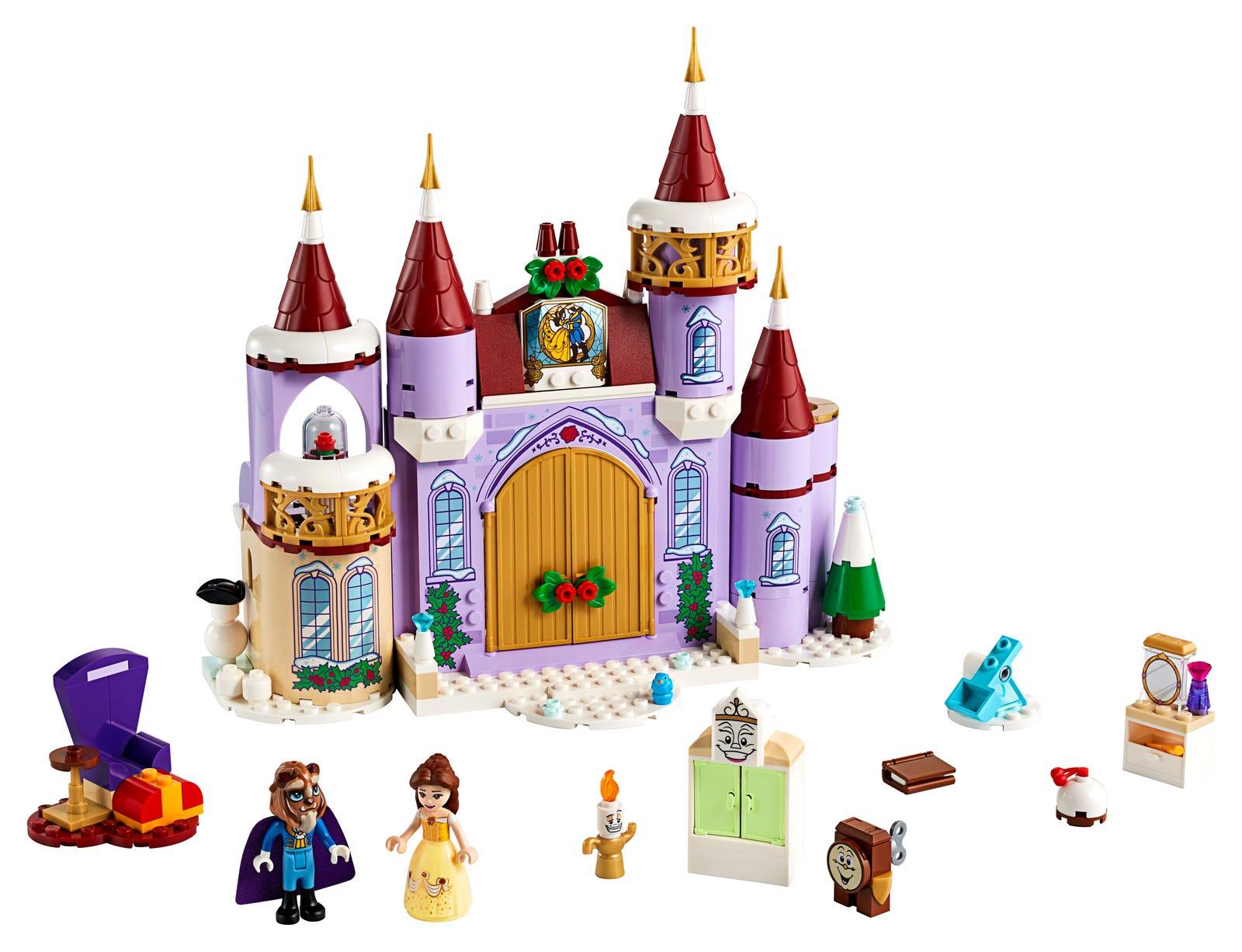 LEGO PRINCESS LA FESTA D'INVERNO AL CASTELLO DI BELLE 43180