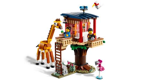 LEGO CREATOR CASA SULL'ALBERO DEL SAFARI 31116