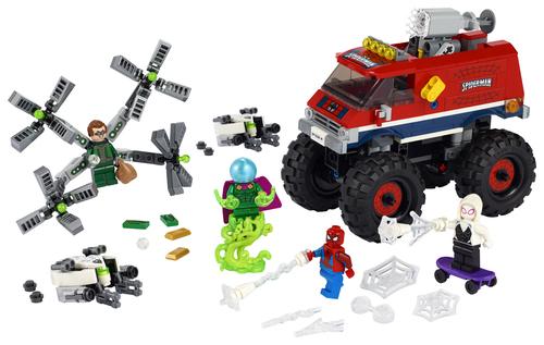 LEGO MARVEL SUPER HEROES MONSTER TRUCK DI SPIDER-MAN VS. MYSTERIO 76174