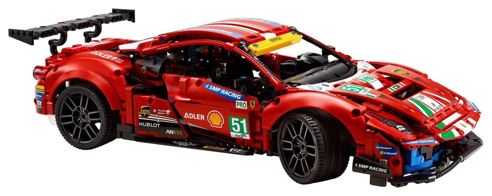 LEGO TECHNIC FERRARI 488 GTE ''AF CORSE #5'' 42125